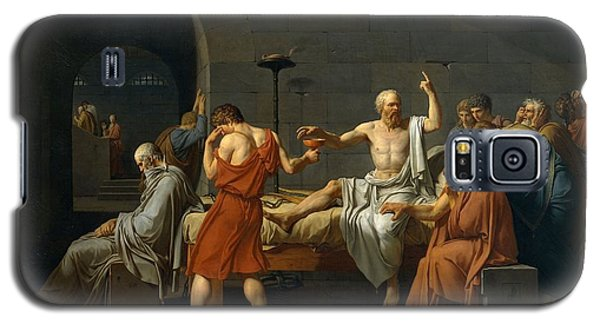 Death Of Socrates Galaxy S5 Case by Jacques Louis David