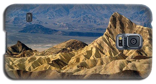 Death Valley Np Zabriskie Point 11 Galaxy S5 Case by Jeff Brunton