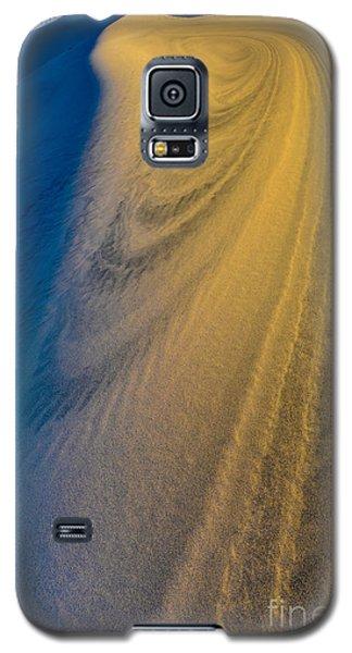 Death Valley Sunset Dune Wind Spiral Galaxy S5 Case