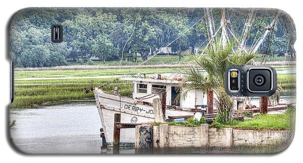 Debby John Shrimp Boat Galaxy S5 Case by Scott Hansen