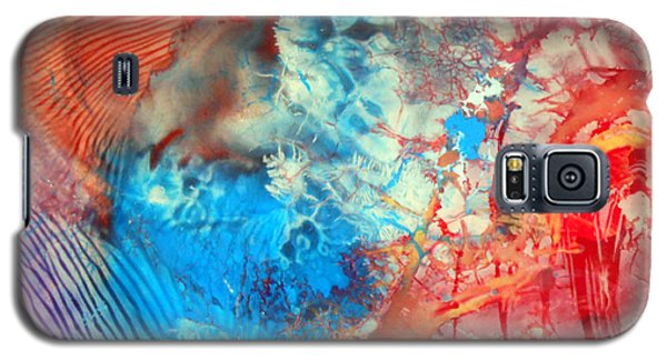 Decalcomaniac Colorfield Abstraction Without Number Galaxy S5 Case