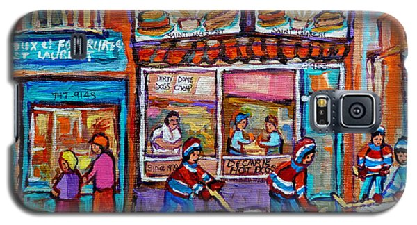 Decarie Hot Dog Restaurant Ville St. Laurent Montreal  Galaxy S5 Case