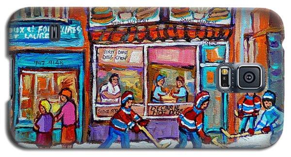 Decarie Hot Dog Restaurant Ville St. Laurent Montreal  Galaxy S5 Case