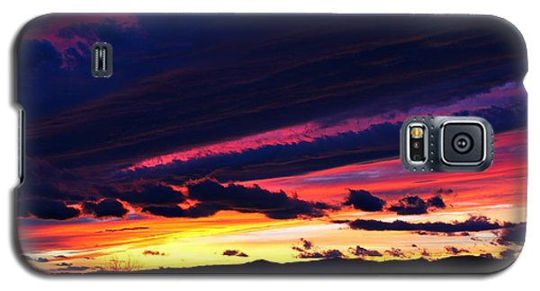 Galaxy S5 Case featuring the photograph December Sunset by Candice Trimble