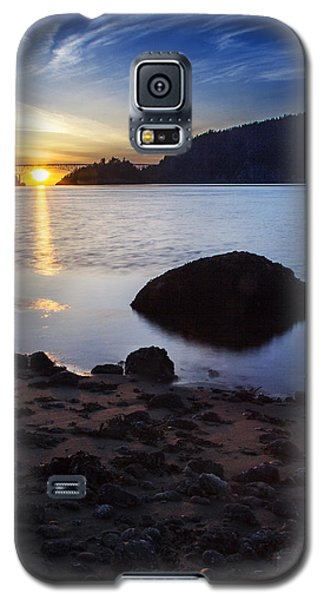 Deception Pass 3 Galaxy S5 Case by Sonya Lang