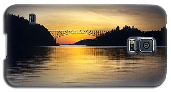 Deception Pass Bridge Galaxy S5 Case by Sonya Lang