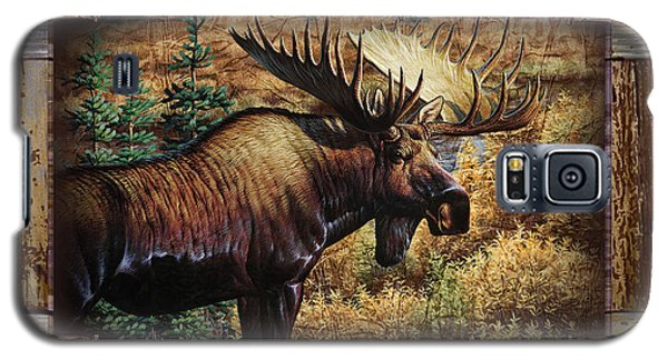 Deco Moose Galaxy S5 Case by JQ Licensing