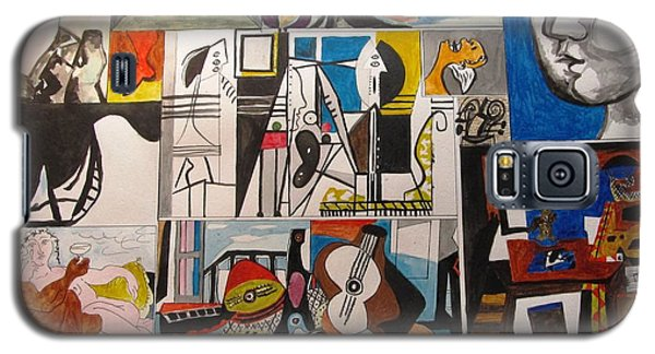 Deconstructing Picasso - Women And Musicians Galaxy S5 Case by Esther Newman-Cohen
