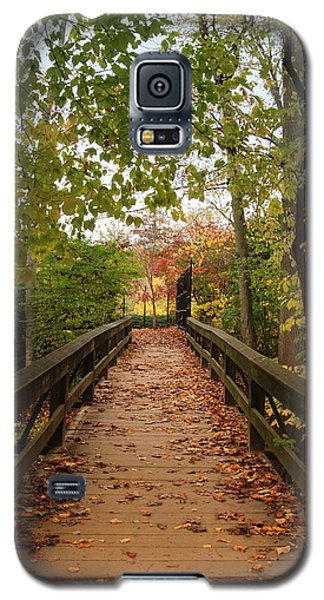 Decorate With Leaves - Holmdel Park Galaxy S5 Case