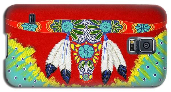 Longhorn Galaxy S5 Case by Debbie Chamberlin