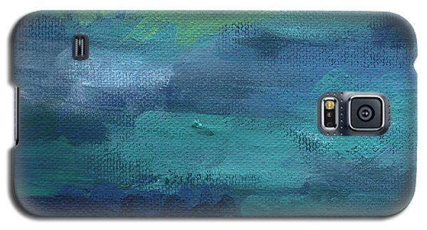 Tranquility- Abstract Painting Galaxy S5 Case
