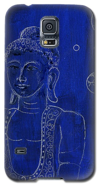 Deep Blue Buddha Galaxy S5 Case