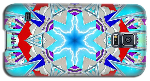 Deep Blue Geometry Galaxy S5 Case