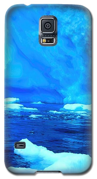 Galaxy S5 Case featuring the photograph Deep Blue Iceberg by Amanda Stadther