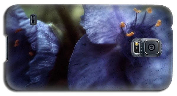 Galaxy S5 Case featuring the photograph Deep Blue by Louise Kumpf