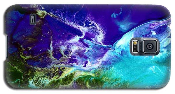 Deep Blue Sea Abstract Galaxy S5 Case