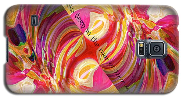 Galaxy S5 Case featuring the digital art Deep Calls Unto Deep by Margie Chapman