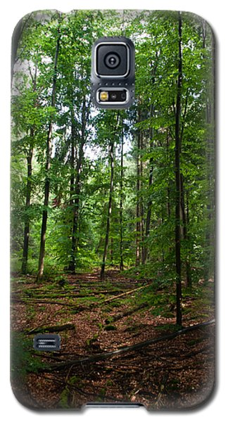 Deep Forest Trails Galaxy S5 Case