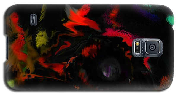 Galaxy S5 Case featuring the digital art Deep Impact by Martina  Rathgens