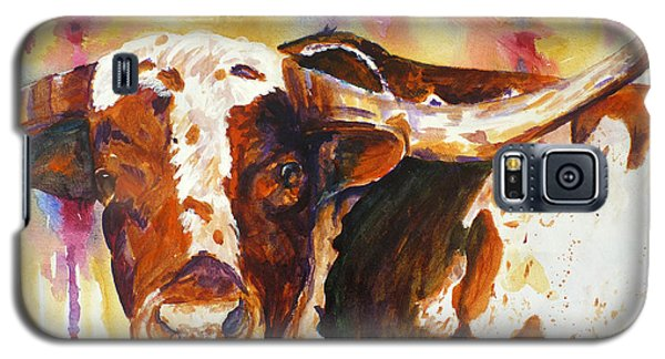 Galaxy S5 Case featuring the painting Deep In The Heart Of Texas by P Maure Bausch