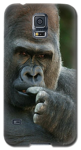 Deep In Thought Galaxy S5 Case by Judy Whitton