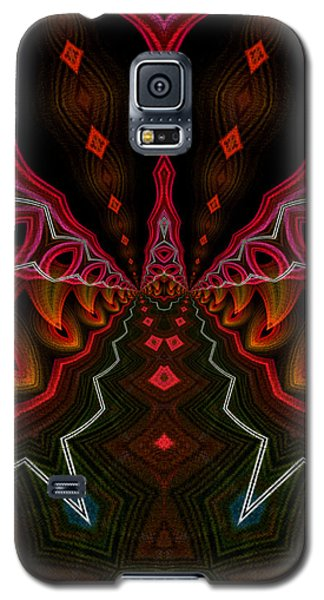 Galaxy S5 Case featuring the digital art Deep In Thought by Owlspook