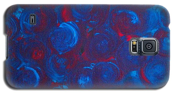 Galaxy S5 Case featuring the painting Deep by Jacqueline McReynolds