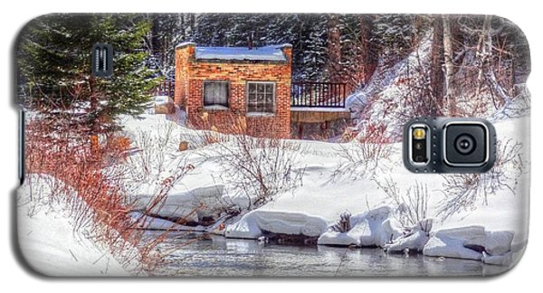 Deep Snow In Spearfish Canyon Galaxy S5 Case by Lanita Williams