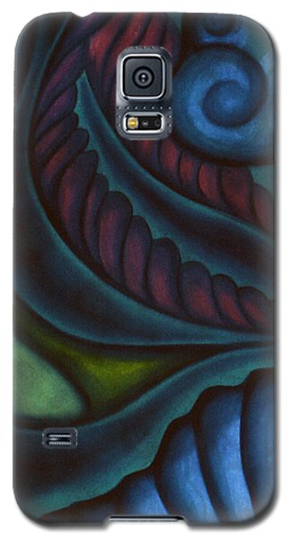 Galaxy S5 Case featuring the pastel Deep by Susan Will