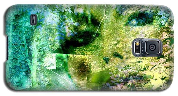 Galaxy S5 Case featuring the digital art Deep Woods Wanderings by Seth Weaver