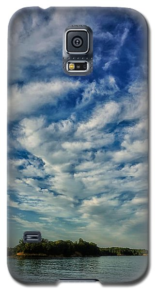 Deer Creek Lake And Clouds Galaxy S5 Case