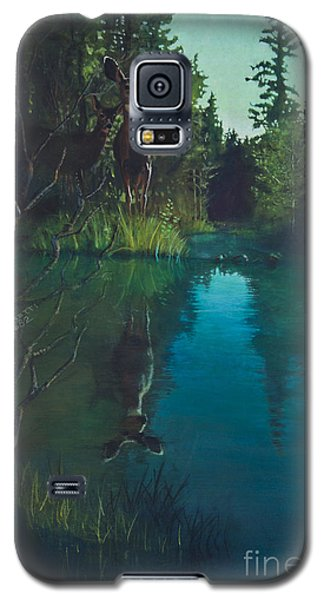Deer Crossing Galaxy S5 Case