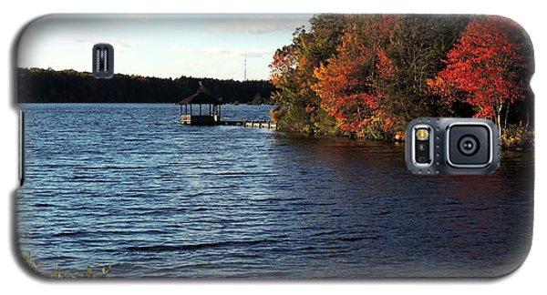 Galaxy S5 Case featuring the photograph Deer Lake Park by Allen Beilschmidt