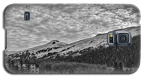 Deer Mountain Bw Galaxy S5 Case by Timothy Latta
