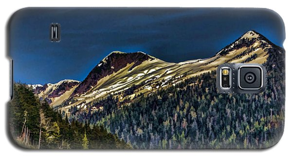 Deer Mountain Galaxy S5 Case by Timothy Latta