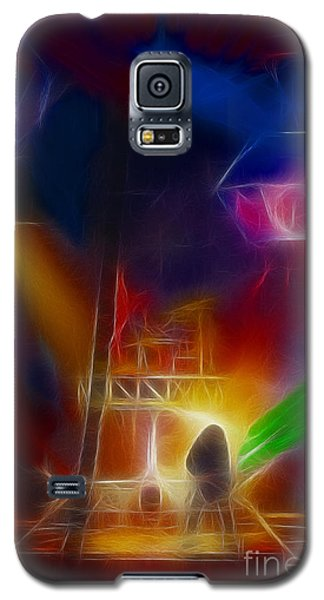 Def Leppard-adrenalize-gf10-fractal Galaxy S5 Case by Gary Gingrich Galleries