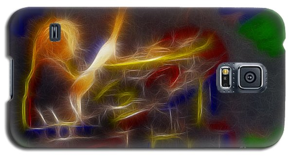 Def Leppard-adrenalize-gf24-ricka-fractal Galaxy S5 Case by Gary Gingrich Galleries