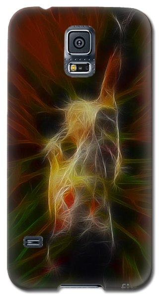 Def Leppard-adrenalize-joe-gb22-fractal-1 Galaxy S5 Case by Gary Gingrich Galleries