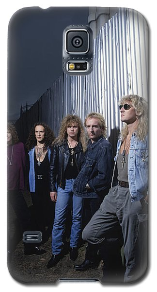 Def Leppard - Adrenalize Me 1992 Galaxy S5 Case by Epic Rights