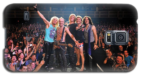 Def Leppard - Viva! Hysteria At The Hard Rock 2013 Galaxy S5 Case by Epic Rights