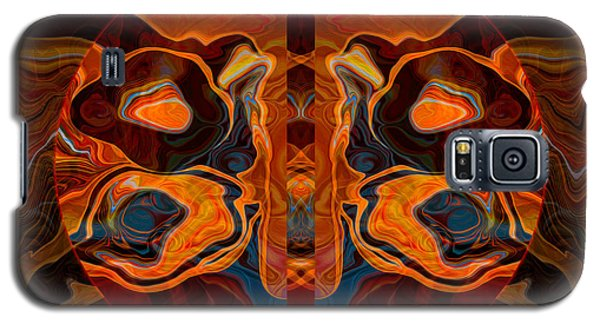 Deities Abstract Digital Artwork Galaxy S5 Case