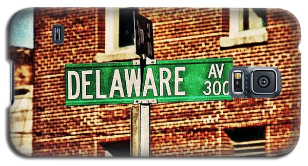 Delaware Avenue Street Sign Galaxy S5 Case