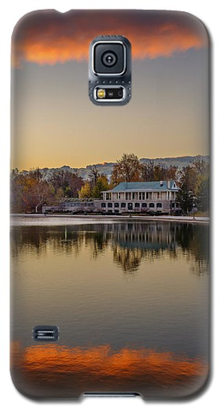 Delaware Park Marcy Casino Autumn Sunrise Galaxy S5 Case