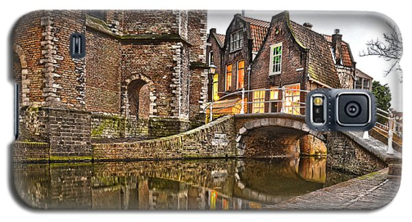 Delft Behind The Church Galaxy S5 Case by Frans Blok