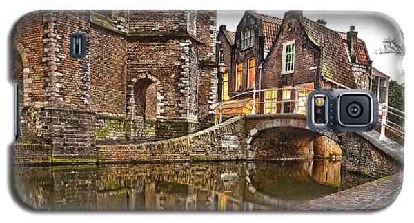 Delft Behind The Church Galaxy S5 Case