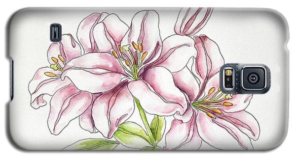 Delicate Lilies Galaxy S5 Case