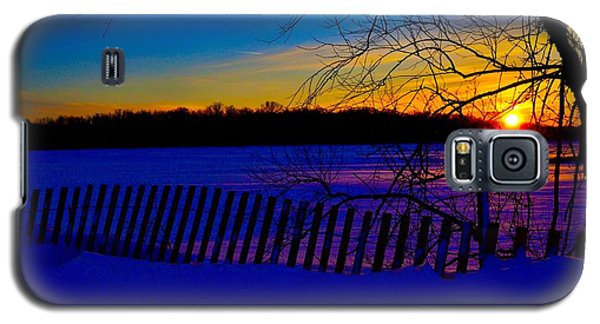 Delight Behind The Fence Galaxy S5 Case