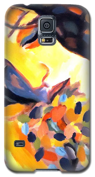 Galaxy S5 Case featuring the painting Delight by Helena Wierzbicki