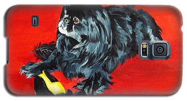 Galaxy S5 Case featuring the painting Delilah by Ellen Canfield