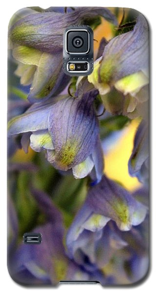 Delphinium Blue Galaxy S5 Case